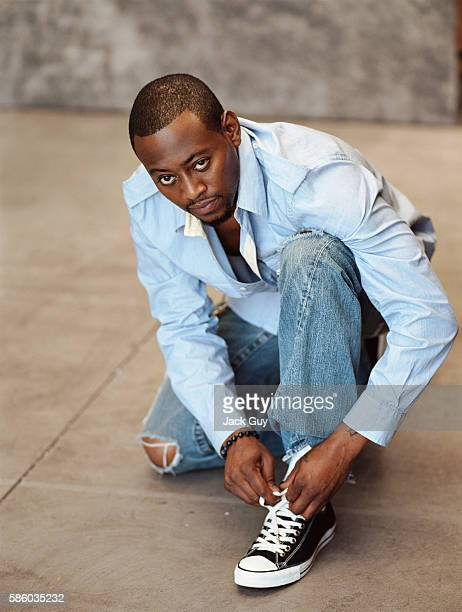 Actor Omar Epps is photographed for TV Guide Magazine in 2005 in Los Angeles California PUBLISHED IMAGE