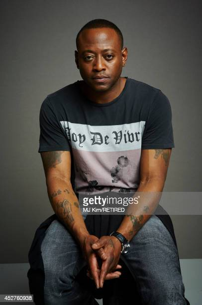 Actor Omar Epps poses for a portrait at the Getty Images Portrait Studio powered by Samsung Galaxy at ComicCon International 2014 at Hard Rock Hotel...