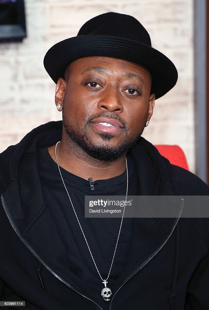 Actor Omar Epps visits Hollywood Today Live on November 17, 2016 in Hollywood, California.