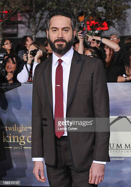 Actor Omar Metwally arrives at 'The Twilight Saga Breaking Dawn Part 2' Los Angeles premiere at the Nokia Theatre LA Live on November 12 2012 in Los...