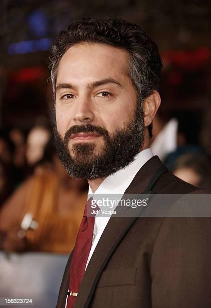 Actor Omar Metwally arrives at 'The Twilight Saga Breaking Dawn Part 2' Los Angeles premiere at Nokia Theatre LA Live on November 12 2012 in Los...