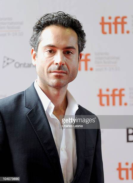Actor Omar Metwally attends the 'Miral' Premiere held at Ryerson Theatre during the 35th Toronto International Film Festival on September 13 2010 in...