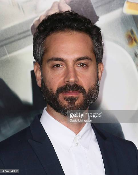 Actor Omar Metwally attends the premiere of Universal Pictures and Studiocanal's 'NonStop' at the Regency Village Theatre on February 24 2014 in...