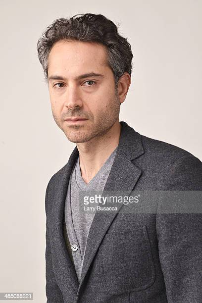 Actor Omar Metwally poses at the 2014 TriBeCa Film Festival Getty Photo Studio on April 16 2014 in New York City