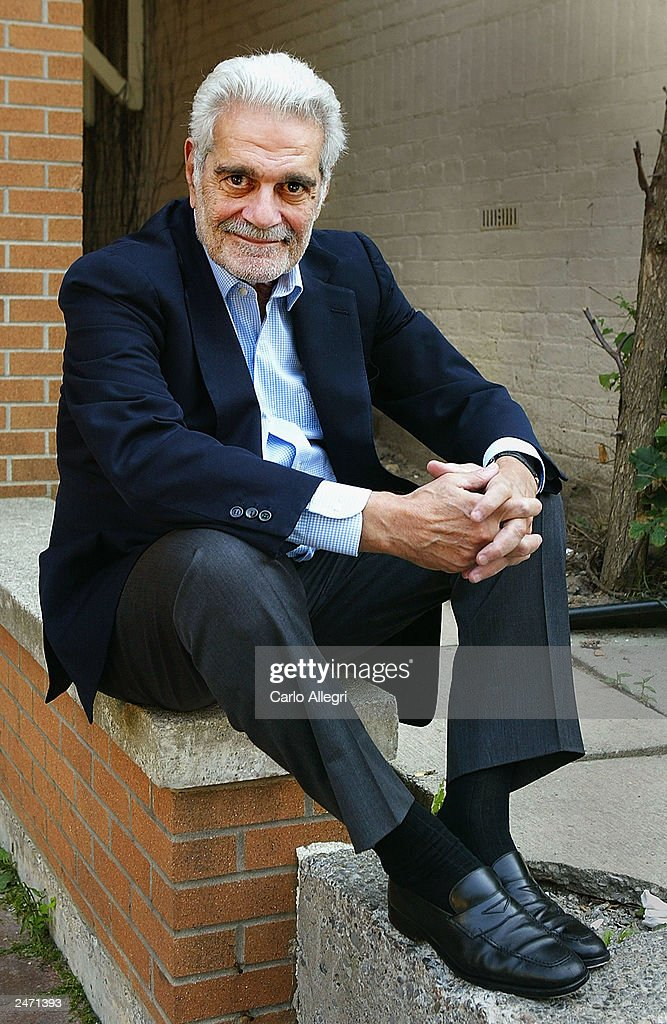 Actor Omar Sharif attends a photocall for 'Monsieur Ibrahim Et Les Fleurs Du Coran' during the 2003 Toronto International Film Festival at the Hotel Intercontinental on September 7, 2003 in Toronto, Canada.