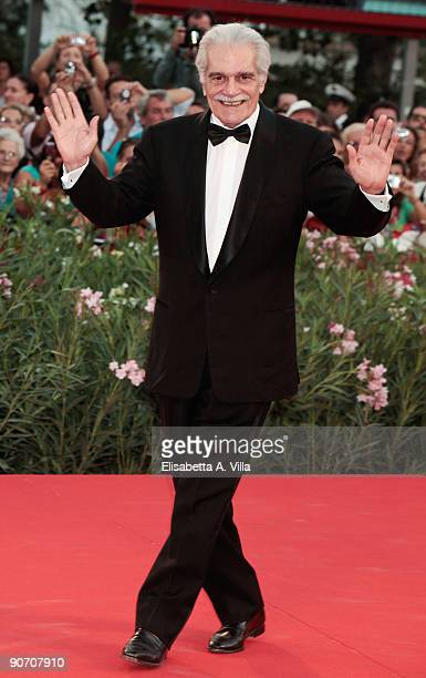 Actor Omar Sharif attends the Closing Ceremony at The Sala Grande during the 66th Venice Film Festival on September 12 2009 in Venice Italy