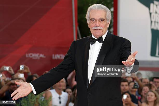 Actor Omar Sharif attends the Closing Ceremony: Red Carpet And Inside at The Sala Grande during the 66th Venice Film Festival on September 12, 2009...