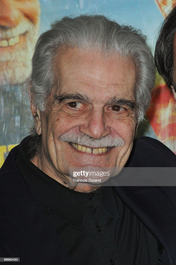 Actor Omar Sharif attends the premiere for 'J'ai Oublie de te Dire' at Le Cinema des Cineastes on April 26, 2010 in Paris, France.