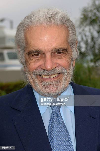 """Actor Omar Sharif attends """"Tutankhamun And The Golden Age Of The Pharaohs"""" Premiere Party at Los Angeles County Museum of Art on June 15, 2005 in Los..."""