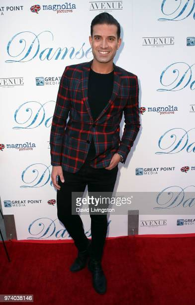 Actor Omar Sharif Jr attends Magnolia Pictures' 'Damsel' premiere at ArcLight Hollywood on June 13 2018 in Hollywood California