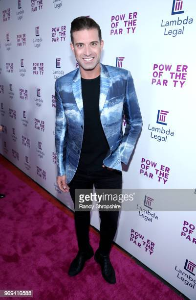 Actor Omar Sharif Jr. Attends the Lambda Legal 2018 West Coast Liberty Awards at the SLS Hotel on June 7, 2018 in Beverly Hills, California.