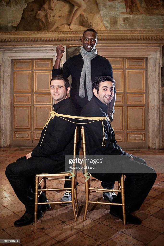 Omar Sy, Eric Toledano & Olivier Nakache, Self Assignment, February 2015
