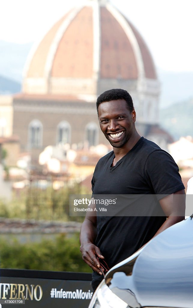 Actor Omar Sy attends 'Inferno' photocall at Palazzo Pitti on May 11, 2015 in Florence, Italy.