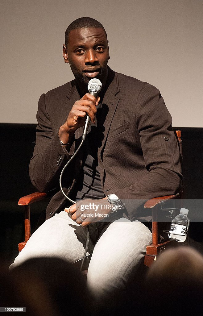 Actor Omar Sy attends TheWrap's Awards Season Screening Series Presents 'The Intouchables'on November 20, 2012 in Los Angeles, California.