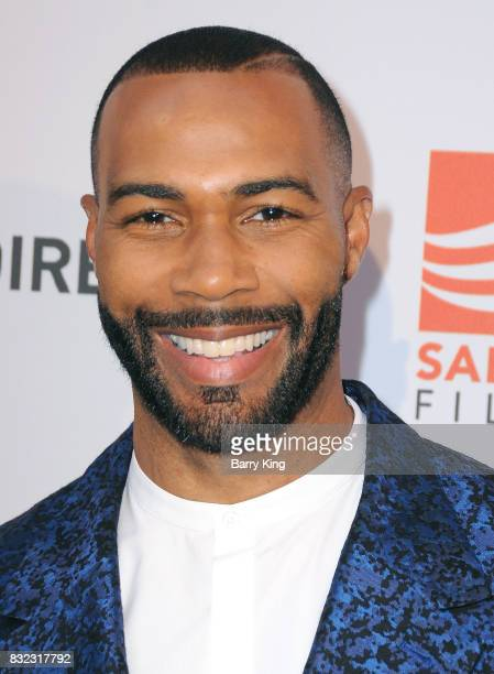Actor Omari Hardwick attends screening of Saban Films and DIRECTV's' 'Shot Caller' at The Theatre at Ace Hotel on August 15 2017 in Los Angeles...