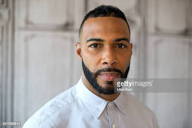 Actor Omari Hardwick attends the AOL Build Speaker Series to discuss Power at AOL HQ on July 13 2016 in New York City