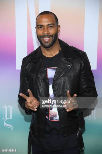 Actor Omari Hardwick attends the FENTY PUMA by Rihanna Spring/Summer 2018 Collection at Park Avenue Armory on September 10 2017 in New York City