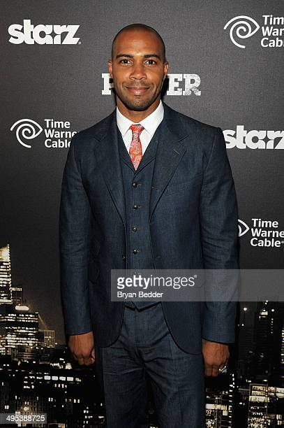 Actor Omari Hardwick attends the Starz Power premiere after party at Highline Ballroom on June 2 2014 in New York City