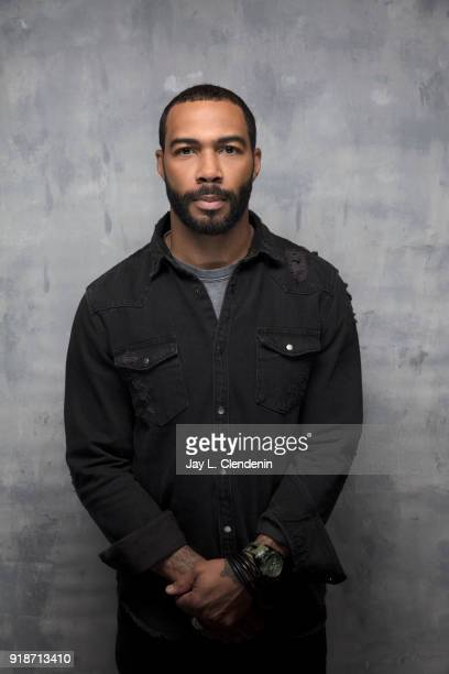 Actor Omari Hardwick from the film 'Sorry to Bother You' is photographed for Los Angeles Times on January 20 2018 in the LA Times Studio at Chase...