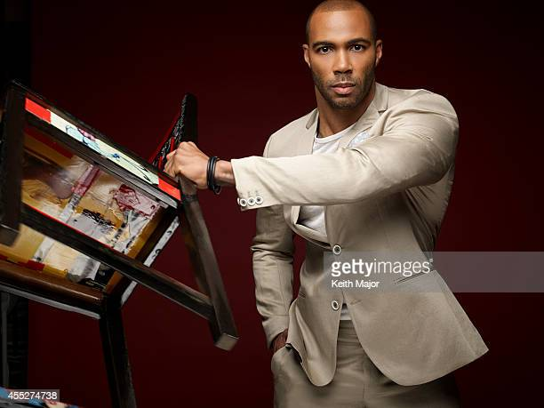 Actor Omari Hardwick is photographed for Rolling Out Magazine on June 24 2014 in New York City