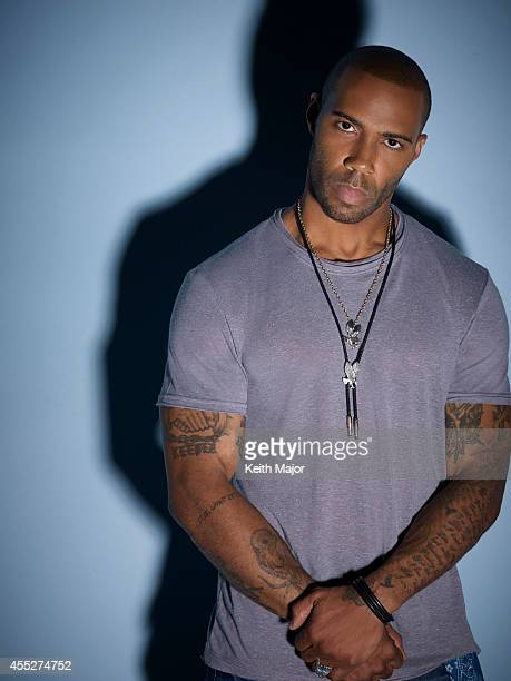 Actor Omari Hardwick is photographed for Rolling Out Magazine on June 24 2014 in New York City PUBLISHED IMAGE