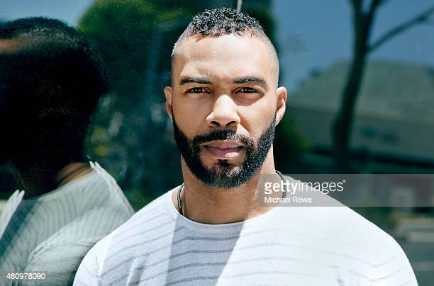 Actor Omari Hardwick is photographed for The Wrap on July 13 2015 in Los Angeles California