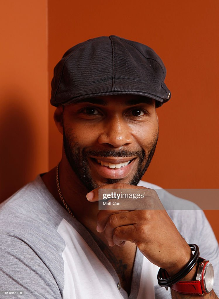 Actor Omari Hardwick of 'Middle of Nowhere' poses at the Guess Portrait Studio during 2012 Toronto International Film Festival on September 12, 2012 in Toronto, Canada.