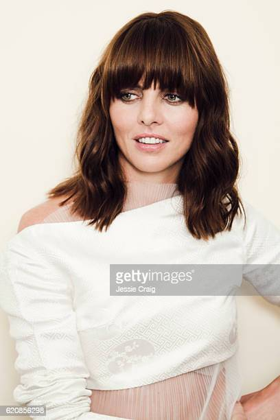 Actor Ophelia Lovibond is photographed for the Picture Journal on July 22 2016 in London England