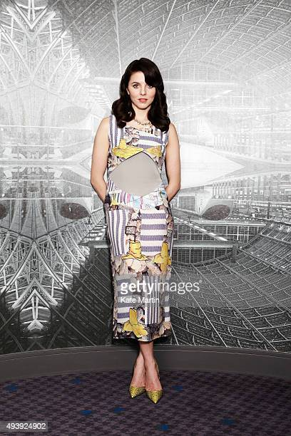Actor Ophelia Lovibond is photographed on December 5 2013 in London England