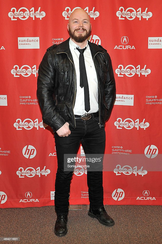 Actor Orjan Gamst attends the 'Dead Snow; Red vs. Dead' premiere at Library Center Theater during the 2014 Sundance Film Festival on January 19, 2014 in Park City, Utah.