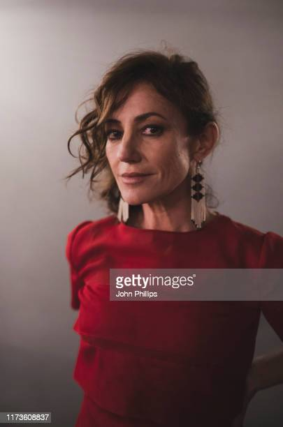 Actor Orla Brady poses for a portrait shoot during the 63rd BFI London Film Festival on October 3 2019 in London England