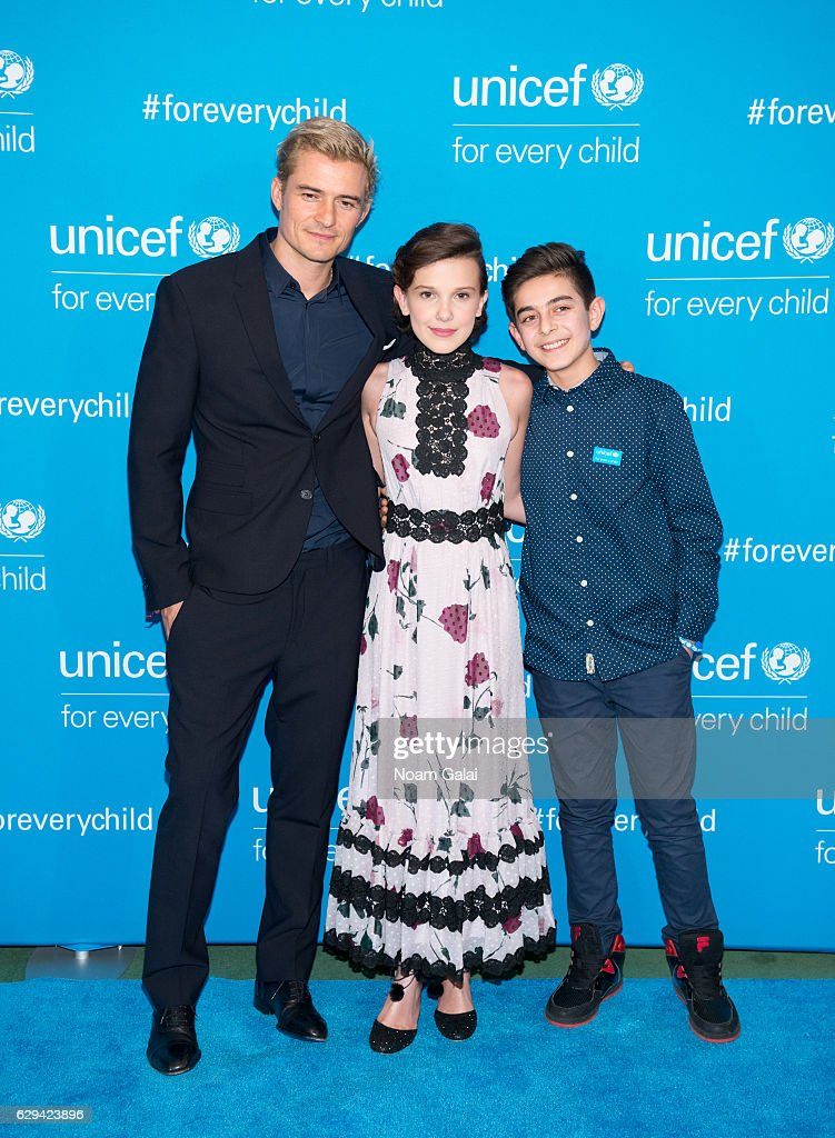 UNICEF's 70th Anniversary Event : News Photo