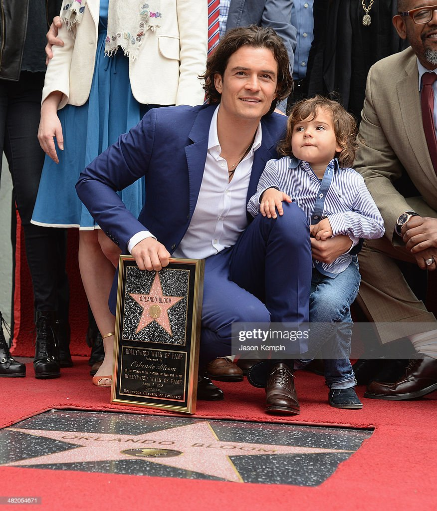 Orlando Bloom Honored On The Hollywood Walk Of Fame