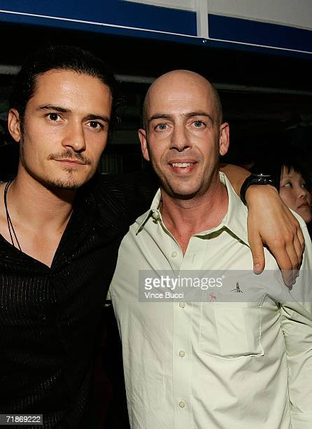 Actor Orlando Bloom and producers Bob Yari attend the after party for Yari Film Group's Haven at the Privilege Night Club on September 12 2006 in Los...