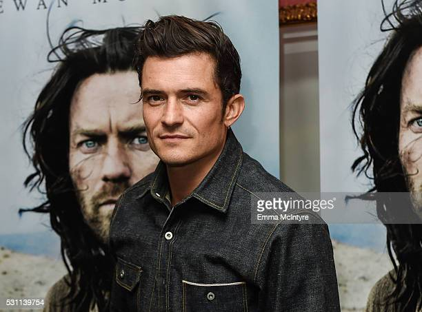 Actor Orlando Bloom arrives at a screening of Broad Green Pictures' 'Last Days In The Desert' at the Laemmle Royal Theatre on May 12 2016 in Santa...