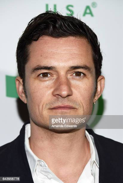 Actor Orlando Bloom arrives at the 14th Annual Global Green PreOscar Gala at TAO Hollywood on February 22 2017 in Los Angeles California