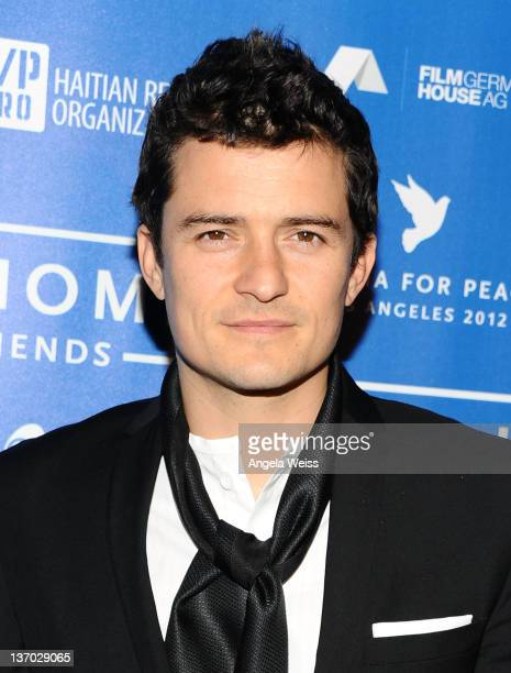Actor Orlando Bloom arrives at the Cinema For Peace event benefitting J/P Haitian Relief Organization held at Montage Hotel at Montage Beverly Hills...