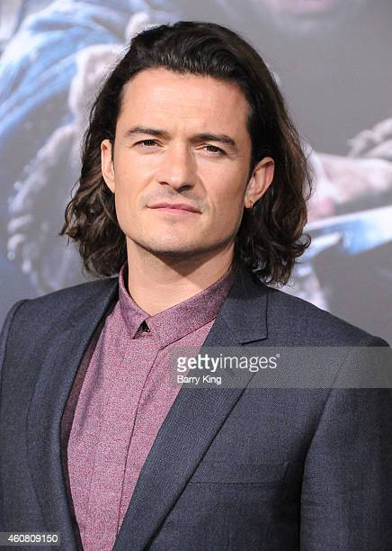 Actor Orlando Bloom arrives at the Los Angeles Premiere 'The Hobbit: The Battle of the Five Armies' at Dolby Theatre on December 9, 2014 in...