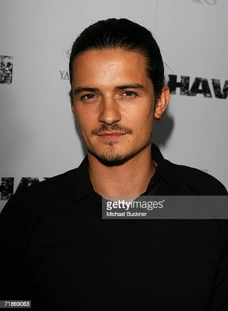Actor Orlando Bloom arrives at the premiere of Yari Film Group's Haven at the ArcLight Theatre on September 12 2006 in Los Angeles California