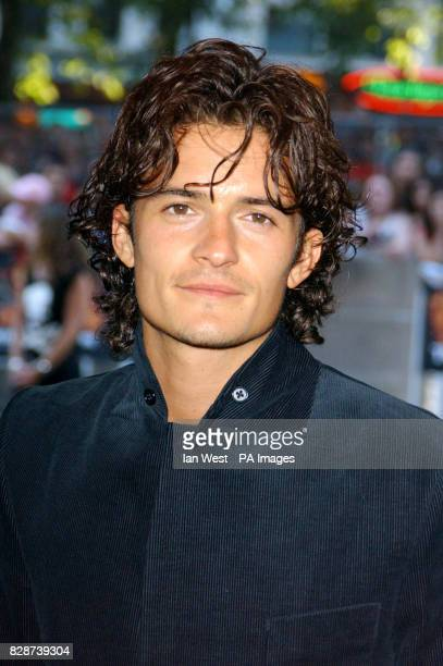 Actor Orlando Bloom arriving at the Odeon Leicester Square London for the European premiere of Pirates of the Caribbean Orlando is to star in Ridley...
