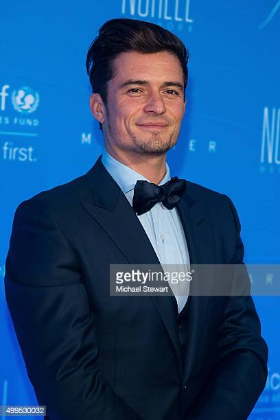 Actor Orlando Bloom attends the 11th Annual UNICEF Snowflake Ball at Cipriani Wall Street on December 1 2015 in New York City