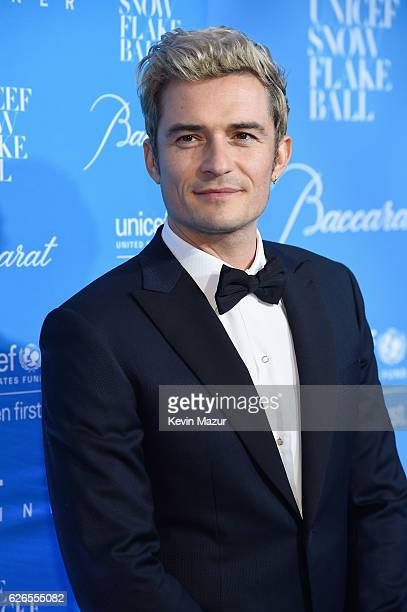 Actor Orlando Bloom attends the 12th annual UNICEF Snowflake Ball at Cipriani Wall Street on November 29 2016 in New York City