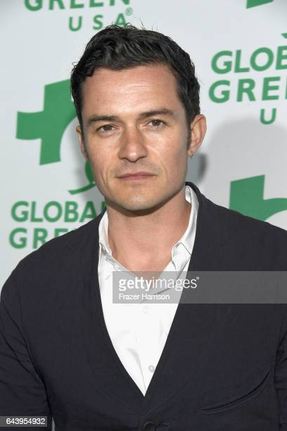 Actor Orlando Bloom attends the 14th Annual Global Green Pre Oscar Party at TAO Hollywood on February 22 2017 in Los Angeles California