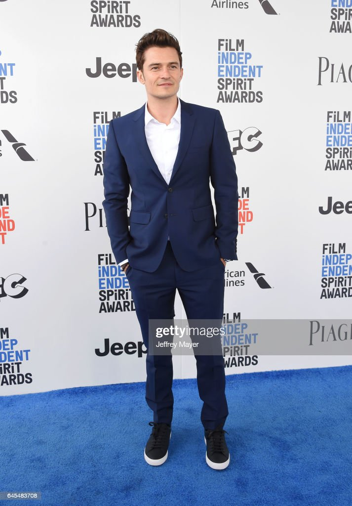 Actor Orlando Bloom attends the 2017 Film Independent Spirit Awards at the Santa Monica Pier on February 25, 2017 in Santa Monica, California.