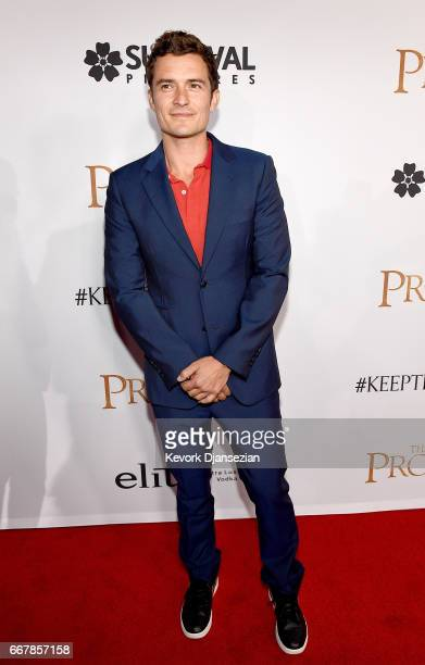 Actor Orlando Bloom attends the premiere of Open Road Films' 'The Promise' at TCL Chinese Theatre on April 12 2017 in Hollywood California