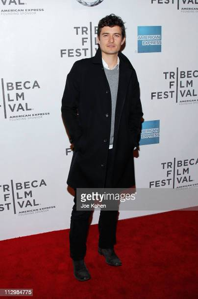 Actor Orlando Bloom attends the premiere of The Good Doctor during the 2011 Tribeca Film Festival at BMCC Tribeca PAC on April 22 2011 in New York...