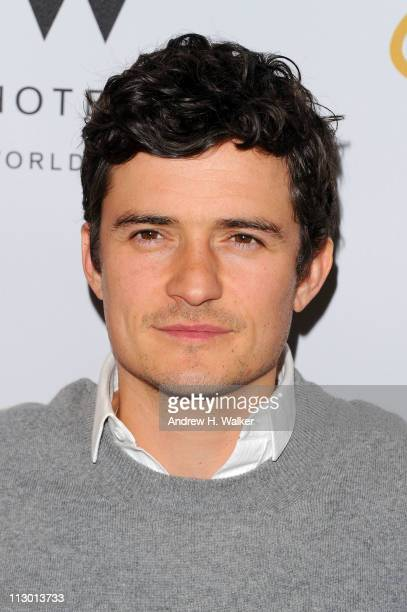Actor Orlando Bloom attends the Tribeca Film Festival afterparty for The Good Doctor hosted by Stolichnaya Vodka at The W Hotel New YorkDowntown's...
