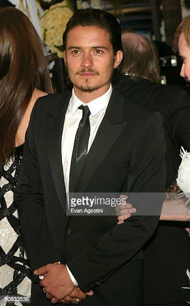 Actor Orlando Bloom attends the World Premiere of the epic movie Troy at Le Palais de Festival May 13 2004 in Cannes France