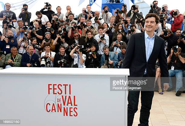 Actor Orlando Bloom attends the 'Zulu' Photocall during the 66th Annual Cannes Film Festival at the Palais des Festivals on May 26 2013 in Cannes...