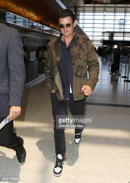 Actor Orlando Bloom is seen on July 10 2017 in Los Angeles California